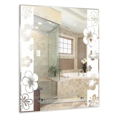 """Зеркало MIXLINE """"Флора"""" 535*685 с полкой / Зеркала MIXLINE / Мебель для ванной комнаты / Каталог товаров / San House"""
